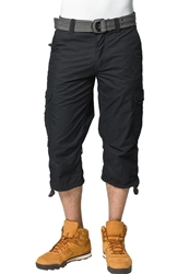Schott Nyc Cargo Trousers Black