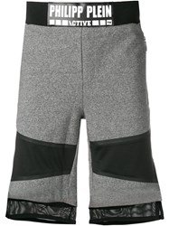 Philipp Plein Grey Track Pants