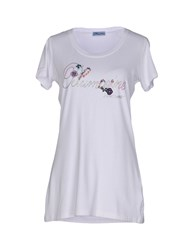 Blumarine Beachwear Topwear T Shirts Women White
