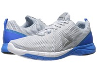 Reebok Print Run 2.0 Cloud Grey Horizon Blue Awesome Blue White Silver Men's Running Shoes Gray