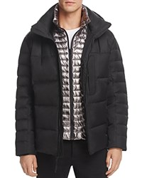 Andrew Marc New York Breuil Mid Length Puffer Jacket Black