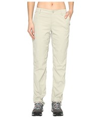 The North Face Aphrodite Straight Pants Granite Bluff Tan Women's Casual Pants White