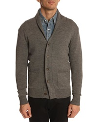 Menlook Label J7 Grey Cardigan