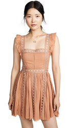 Free People Verona Dress Camel