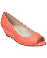 Alfani Women's Step 'N Flex Cammi Wedges Only At Macy's Women's Shoes Sherbert