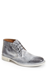 John Varvatos Collection 'College' Chukka Boot Men Black White