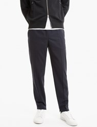 Neil Barrett Navy Blue Loose Pants