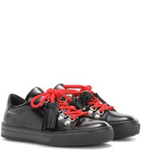 Tod's Sportivo Leather Sneakers Black
