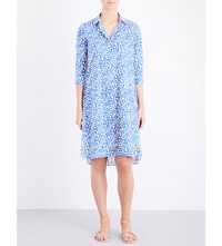 Thierry Colson Angelica Cotton Dress Blue
