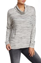 Nation Ltd. Hope Turtleneck Sweater Gray