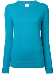 Cityshop 'City' Crew Neck Jumper Blue
