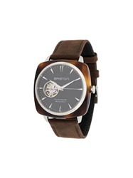 Briston Watches Clubmaster Iconic Acetate Watch Black