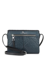 Nanette Lepore Highland Park Leather Crossbody Denim