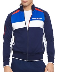Ralph Lauren Polo Sport Color Blocked Track Jacket