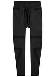Y 3 Sport Black Stretch Jersey Leggings