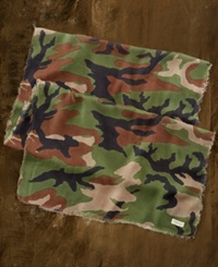 Denim And Supply Ralph Lauren Camo Print Gauze Scarf Military Camo
