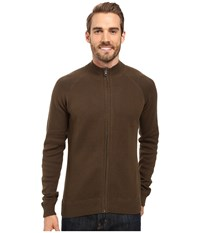 Ecoths Nolan Sweater Tarmac Gravel Men's Long Sleeve Pullover Brown