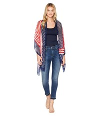 Collection Xiix Americana Flag Wrap Red Clothing