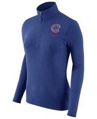 Nike Women's Chicago Cubs Element Pullover Royalblue