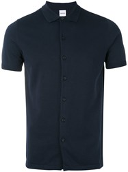 Aspesi Classic Polo Shirt Men Cotton 46 Blue