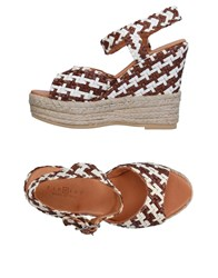 Fiorina Sandals Brown