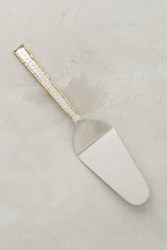 Anthropologie Besart Cake Server Gold