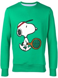 Lc23 Snoopy Sweatshirt Green