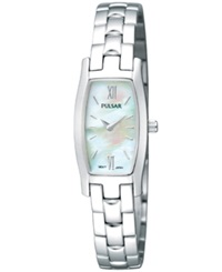 Pulsar Watch Women's Stainless Steel Bracelet Pegf23 Women's Shoes