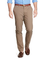 Polo Big And Tall Classic Fit Stretch Chino Pants Brown