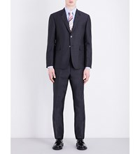 Thom Browne Classic Fit Wool And Mohair Suit Dark Grey