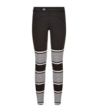 Adidas By Stella Mccartney Studio Striped Tights Female Black