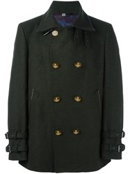 Vivienne Westwood Double Breasted Jacket Green