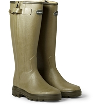 Le Chameau Chasseur Leather Lined Wellington Boots