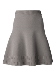 Maison Ullens Flared Skirt Grey