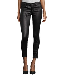 Ag Adriano Goldschmied Legging Ankle Leatherette Light Black