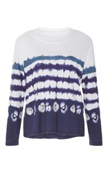 Prabal Gurung Long Sleeve Printed Tee