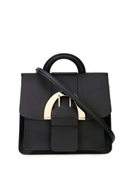 Zac Posen Biba Buckle Backpack Black