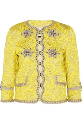 Gucci Metallic Brocade Jacket
