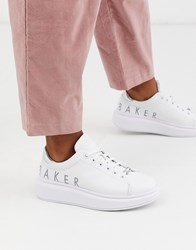 Ted Baker Ailbaa Chunky Sole Trainers White