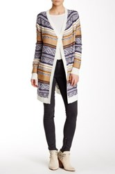 Abound Fairisle Blanket Cardigan Multi