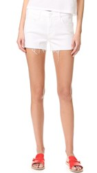 Mother Teaser Slit Shorts Glass Slipper