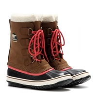 Sorel 1964 Pac 2 Suede And Rubber Boots Grizzly Bear