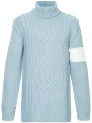 Guild Prime Cable Knit Sweater Blue