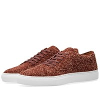 Common Projects Court Low Suede Burgundy