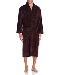 Daniel Buchler Heathered Terry Robe Merlot