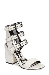 Dolce Vita Women's Edin Buckle Strap Sandal Off White Leather