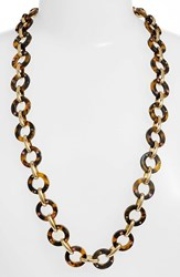 Kate Spade Women's New York 'Out Of Her Shell' Long Link Necklace