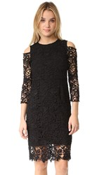 Shoshanna Pia Lace Dress Jet