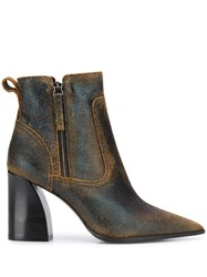 Premiata Pointed Toe Ankle Boots 60