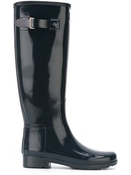 Outsource Images Buckle Wellington Boots Blue